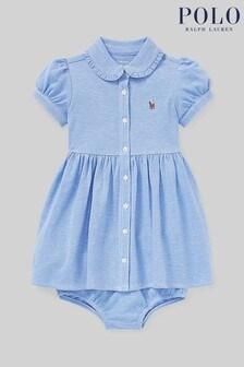 Ralph Lauren Blue Oxford Shirt Dress