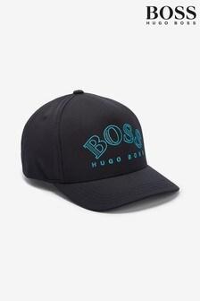 BOSS Black Curved Logo Cap