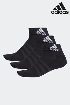 adidas Kids Black Ankle Socks Three Pack