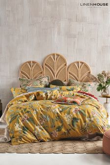 Anastacia Floral Duvet Cover and Pillowcase Set by Linen House