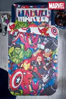 Marvel® Avengers Reversible Duvet Cover and Pillowcase Set