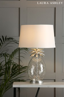 Laura Ashley Pineapple Table Lamp with Ivory Shade