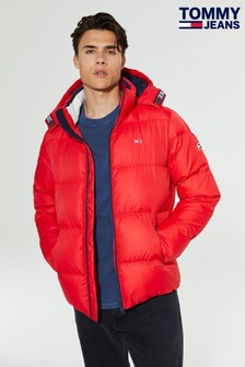 Tommy Jeans Essential Red Down Jacket