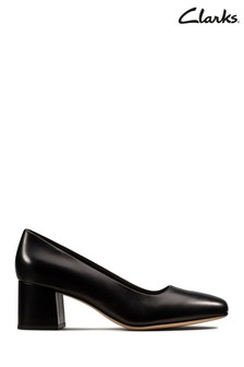 Clarks Black Sheer Rose Shoes