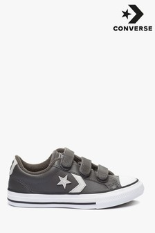 Converse Youth Star Player 3 Velcro Leather Trainers