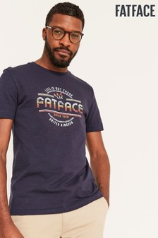 FatFace Chest Logo Graphic Tee