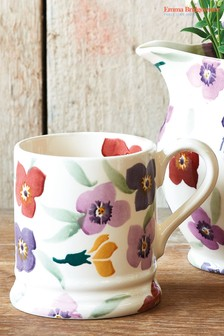 Emma Bridgewater Purple Flower Half Pint Mug