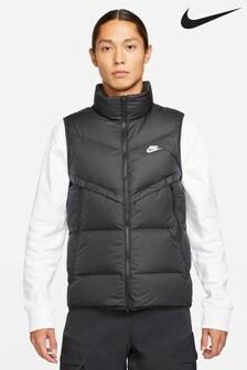 Nike Black Sportswear Storm-FIT Windrunner Gilet