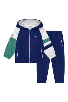 Sport Boys Blue, White & Green Tracksuit