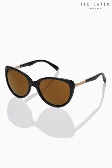Ted Baker Black Belle Cat Eye Sunglasses