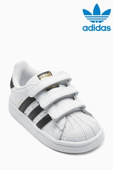 new arrival 91624 f462f adidas Originals Superstar Velcro Youth