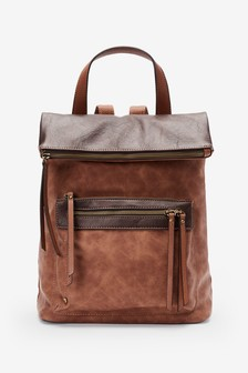 Fabric Mix Utility Rucksack