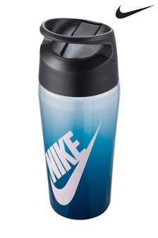 Nike Blue Fade 16oz Hypercharge Water Bottle