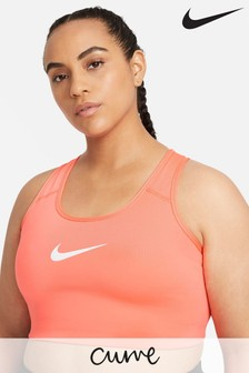 Nike Curve Swoosh Medium Support Sports Bra