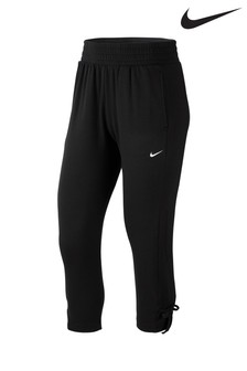 Nike Yoga Black Cropped Training Joggers