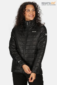 Regatta Black Womens Freezeway II Baffle Jacket