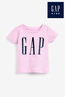 Gap Lavender Logo Graphic T-Shirt
