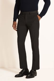 Moss London Skinny Fit Machine Washable Plain Trousers