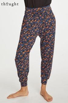 Оранжевые спортивные брюки Thought Brigitta