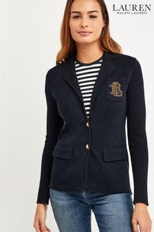 Lauren Ralph Lauren® Navy Alvarta Blazer