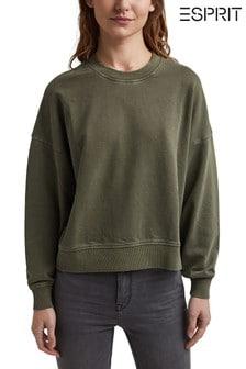 Esprit Green Casual Sweater