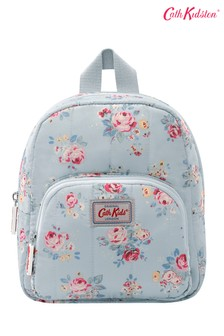 Cath Kidston® Kids White Briar Rose Mini Quilted Rucksack