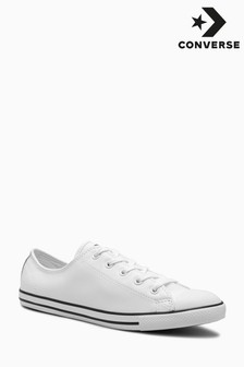 Converse Chuck Taylor White All Star Leather Dainty Ox