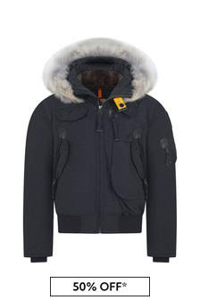 Boys Navy Gobi Down Padded Jacket