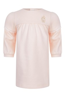 Baby Girls Pink Fleece Dress