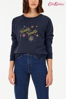 Cath Kidston® Blue Twinkle Sweatshirt