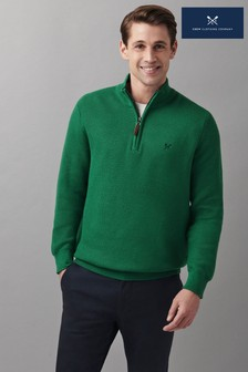 Crew Clothing Company Helston 1/2 Zip Jumper
