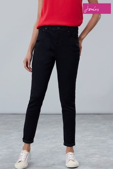 Joules Black Monroe Skinny Stretch Jeans