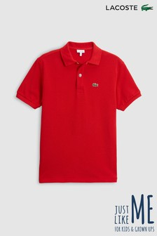 Lacoste® Burgundy Classic Polo