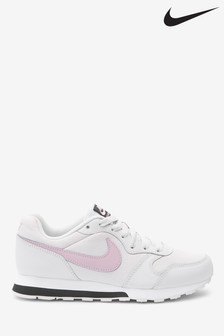 Nike Grey/Pink MD Runner Youth Trainers