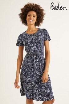 Boden Blue Evangeline Jersey Dress