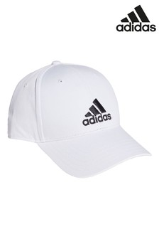 adidas Kids White Baseball Cap