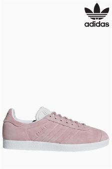 women's adidas dark grey gazelle og ii trainers nz