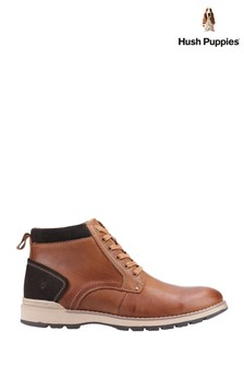 Hush Puppies Brown Dean Shoes