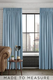 Craven Aqua Green Made To Measure Curtains