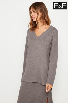 F&F Neutral Rib Batwing Jumper