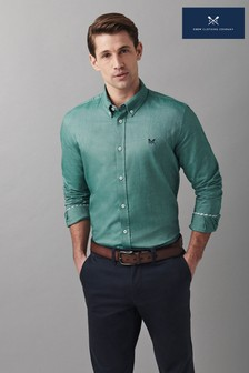 Crew Clothing Company Slim Oxford Shirt