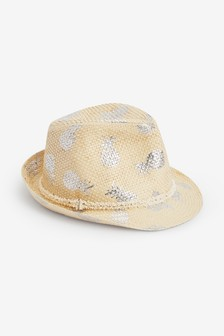 Pineapple Print Trilby (Older)