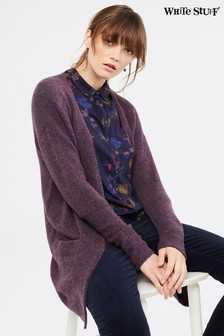 White Stuff Grape Cosy Cardigan