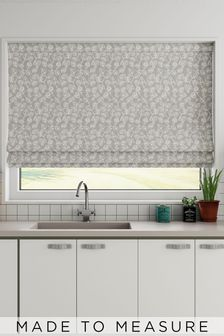 Leya Blush Pink Made To Measure Roman Blind
