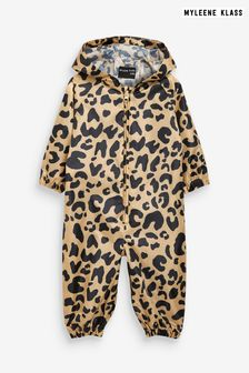 Myleene Klass Kids Unisex Waterproof Animal Puddlesuit