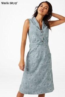 White Stuff Blue Free Spirit Dress