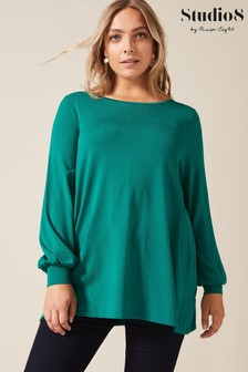 Studio 8 Green Adira Knit Top