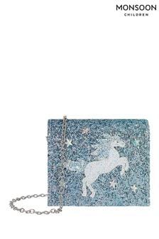 Monsoon Children Blue Waterhorse Ombre Bag