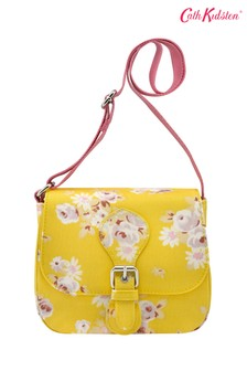 Cath Kidston® Kids White Premium Daisy Rose Cross Body Satchel