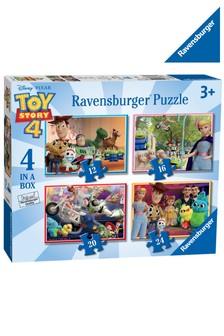 Ravensburger Disney™ Pixar Toy Story 4, 4 In A box Jigsaw